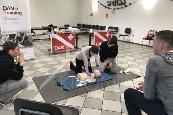 Corso primo soccorso adulto e pediatrico con abilitazione all'uso del defibrillatore semiautomatico